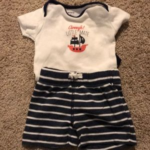 Carters Little Mate Outfit